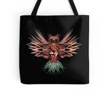 Firework Owl 01 Tote Bag