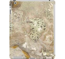 Gold Paper Marble Texture iPad Case/Skin