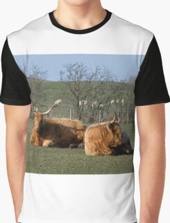 Highland Catte Graphic T-Shirt
