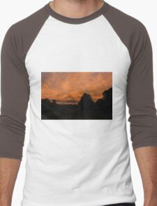 Morning dawn in the country Men's Baseball ¾ T-Shirt