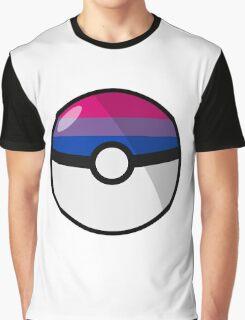 Bi Pokeball Graphic T-Shirt