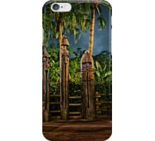The Angered Tiki Gods iPhone Case/Skin