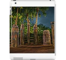 The Angered Tiki Gods iPad Case/Skin