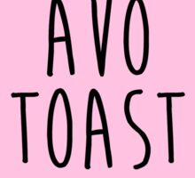 avo toast Sticker
