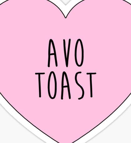avo toast Sticker