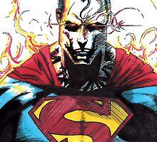 Superman (Colour) by EmperorDinodude