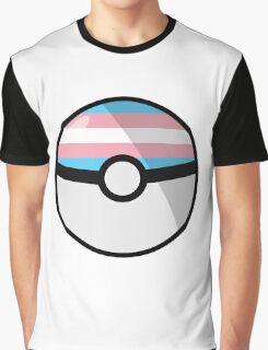 Trans Pokeball Graphic T-Shirt