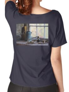 At the Mill Window in Black Creek Pioneer Village Women's Relaxed Fit T-Shirt