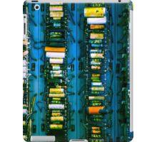 Vintage electronic board iPad Case/Skin