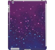 Bi Pride Flag Galaxy (8bit) iPad Case/Skin