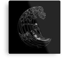 SURF TRASH Metal Print