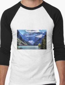 Lake Louise Banff Men's Baseball ¾ T-Shirt