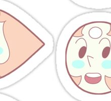 6 Pearl Points  Sticker