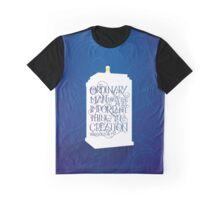 Ordinary Man - Gallifrey  Graphic T-Shirt