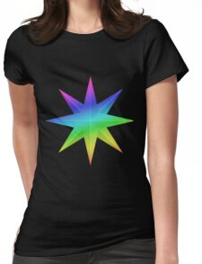 MLP - Cutie Mark Rainbow Special – Prince Blueblood Womens Fitted T-Shirt
