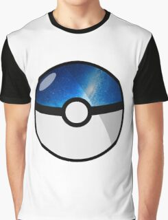 Space Pokeball Graphic T-Shirt
