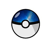 Space Pokeball Photographic Print
