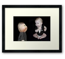 (✿◠‿◠) MM-COULD IT BE POSSIBLE?-THEY CLONED ME (✿◠‿◠) Framed Print