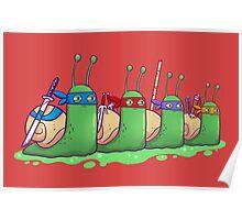 Teenage Mutant Ninja Slugs Poster