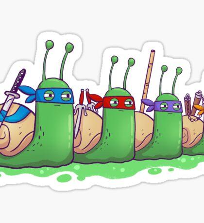 Teenage Mutant Ninja Slugs Sticker
