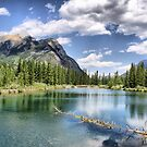 Mount Lorette Ponds, Kananaskis Country by Vickie Emms