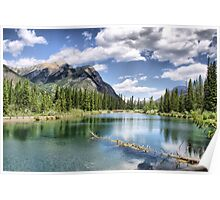 Mount Lorette Ponds, Kananaskis Country Poster