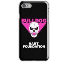 British Bulldog Hart Foundation wrestling iPhone Case/Skin