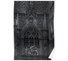 Gothic Deco Poster