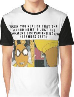 arthur vs harambe Graphic T-Shirt