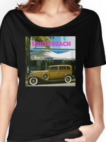 SOUTH BEACH TRANSPORTATION Women's Relaxed Fit T-Shirt