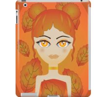 Autumn girl iPad Case/Skin