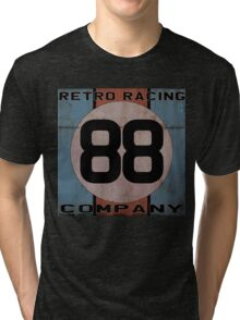 "Retro Racing Company ""88"" Tri-blend T-Shirt"