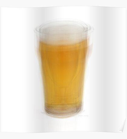 Beer Pint Glass Poster