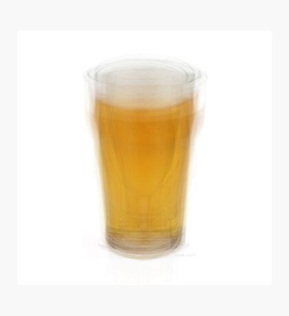 Beer Pint Glass Photographic Print