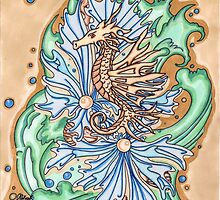 King seahorse by Thoricartist