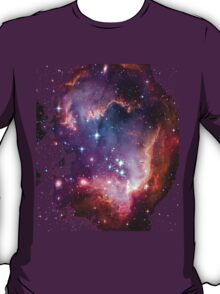 Colorful Galaxy Pattern T-Shirt