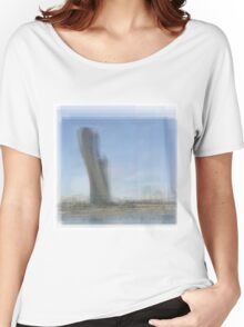 Capital Gate Tower Abu Dhabi Women's Relaxed Fit T-Shirt
