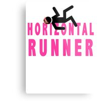Horizontal Runner Metal Print