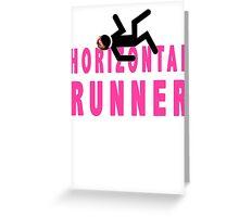 Horizontal Runner Greeting Card