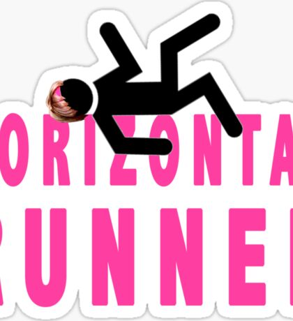 Horizontal Runner Sticker