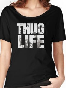 -MUSIC- Thug Life Women's Relaxed Fit T-Shirt