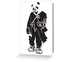 Panda Pong Greeting Card