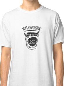 Ice Cream Tub Black & White Classic T-Shirt