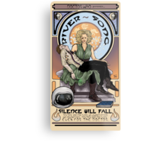 Silence Will Fall: The River's Pietà Metal Print