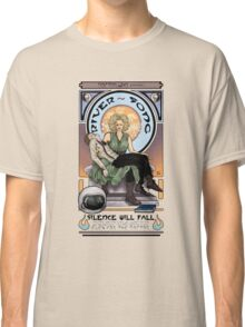 Silence Will Fall: The River's Pietà Classic T-Shirt