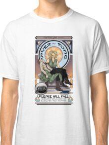 Silence Will Fall: The River's Pietà Classic T-Shirt
