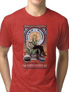 Silence Will Fall: The River's Pietà Tri-blend T-Shirt