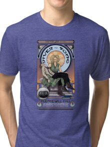 Silence Will Fall: The River's Pietà Tri-blend T-Shirt
