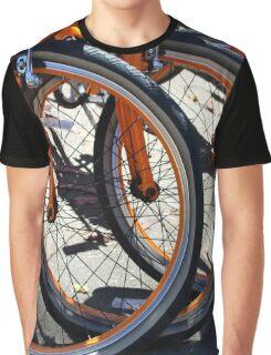 Bike Wheels Graphic T-Shirt