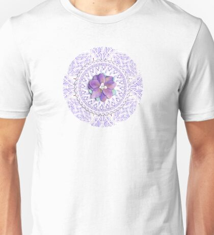 Victorian Flower Lace T-Shirt